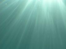вода световых лучей Стоковые Фото
