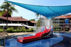 вода скольжения курорта Стоковые Изображения RF