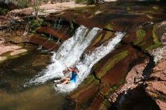вода скольжения природы s Стоковые Изображения RF