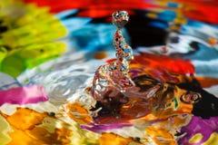 вода скульптуры падения Стоковое Фото
