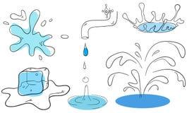 вода собрания Стоковые Изображения
