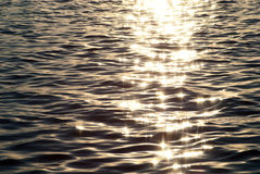 вода солнца отражения Стоковая Фотография