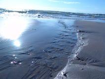 вода солнца потока отражения Стоковое Изображение