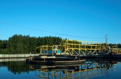 вода станции стоковое фото