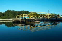 вода станции стоковые фотографии rf