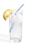 вода стеклянного включенного путя клиппирования тоническая Стоковое фото RF