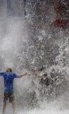 вода стены Стоковые Изображения