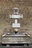 вода стены vatican двигателя фонтана тонкая Стоковая Фотография