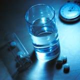 вода таблеток стоковые фотографии rf