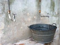 вода тазика Стоковое Изображение RF