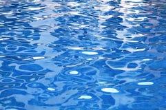вода текстуры бассеина предпосылки Стоковое Фото