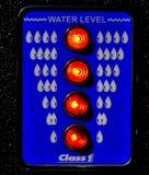 вода тележки уровня датчика пожара Стоковое фото RF