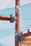 вода труб Стоковая Фотография