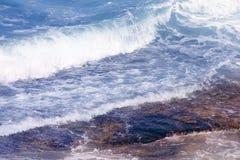 Вода & утес Стоковые Фото