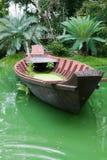 вода шлюпки деревянная стоковое фото