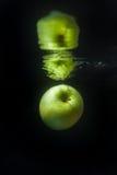 вода яблока Стоковые Фотографии RF