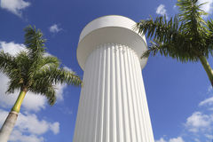 вода 2 башен Стоковая Фотография