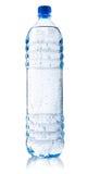 вода carbonated бутылкой пластичная стоковые фото