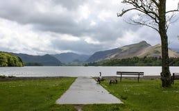 Вода Derwent в национальном парке района озера Стоковые Изображения