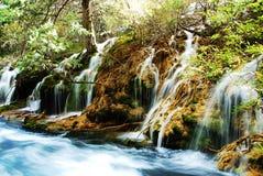 вода jiuzhai Стоковая Фотография RF