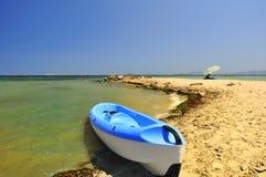 вода kayak s края каня Стоковое Изображение RF