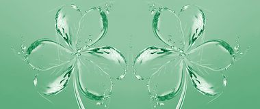 вода shamrocks 2 бесплатная иллюстрация