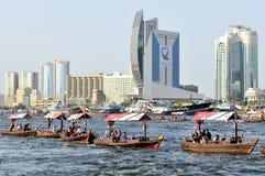 вода UAE парада 38th дня национальная Стоковое Изображение
