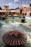 вода yogyakarta всхода дворца стоковое изображение rf