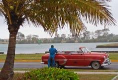 водитель автомобиля кубинский его Стоковые Изображения RF