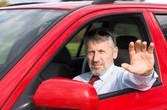Водитель автомобиля Стоковые Изображения RF