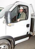 Водитель грузовика Стоковая Фотография