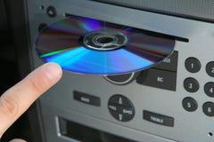 Водитель и компактный диск Стоковое Фото