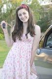 водитель подростковый стоковое фото