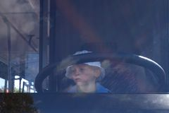 водитель Стоковая Фотография