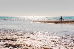 Водные виды спорта на пляже стоковое фото rf