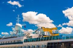 Водные горки на корабле Стоковая Фотография