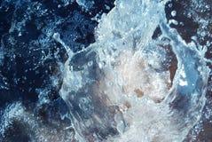 водоворот выплеска Стоковое Изображение