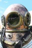 водолазный шлем стоковое изображение