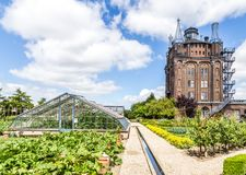 Водонапорная башня Ancent в Dordrecht, Нидерландах Стоковое Фото