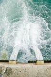 водоотводная труба Стоковые Фото