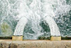 водоотводная труба Стоковое Изображение