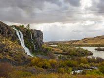 Водопады в Айдахо стоковые изображения