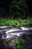 Водопады и поток Стоковая Фотография