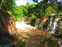 Водопады на Ла Llovizna Parque Стоковые Изображения