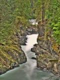 водопады реки hdr Стоковые Фотографии RF