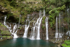 водопады реки langevin Стоковые Фото