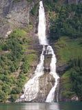 водопады фьорда Стоковая Фотография RF