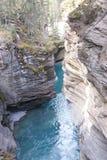 водопады шага известняка Стоковое Фото