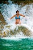 водопады ямайки Стоковые Изображения RF