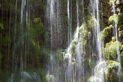 Водопады Argiroupoli, остров Крита Стоковая Фотография